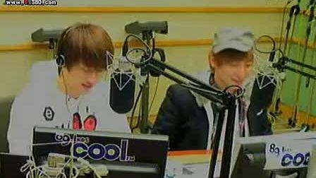 2011-01-04 Super Junior的Kiss the radio(嘉宾晟敏东海历旭奎贤)