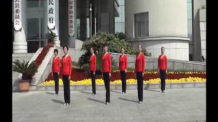缙云行政中心广场舞社员都是向阳