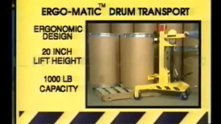 武汉汉利liftomatic ERGO 液压手推车 油桶钢桶搬运工具