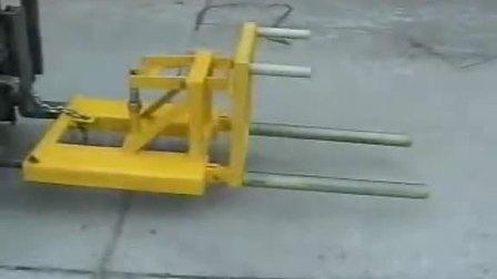 武汉汉利liftomatic DU-SOM 翻桶机具 油桶钢桶搬运工具