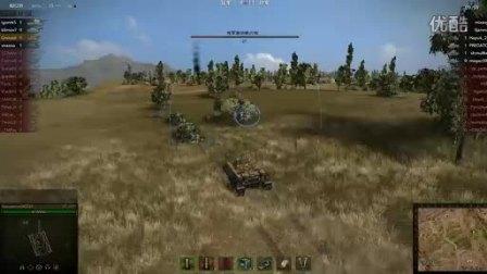 坦克世界VK280111杀勇士 临危不惧