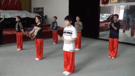 红拳24式  分解动作1(西安市莲湖区)
