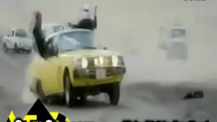还得瑟么!阿拉伯菜鸟漂移翻车事故