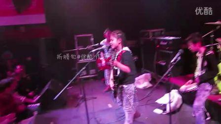 Super Baby中国本土娃娃摇滚武汉VOX现场演唱震惊到未来