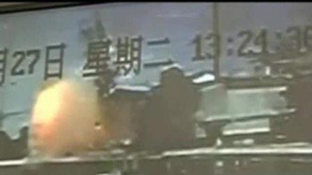 【拍客】监拍武汉江夏一制药厂爆炸