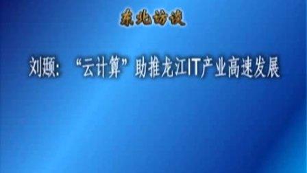 """刘颋:""""云计算""""助推龙江IT产业高速发展"""