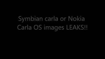 再次升级 诺基亚塞班Carla系统界面曝光