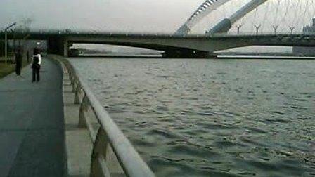 太原长风大桥汾河景区