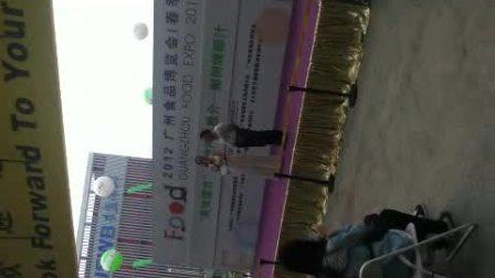 2012广州食品博览会の椰树牌椰子汁