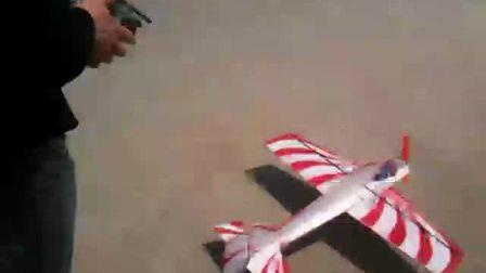 自制模型飞机飞行视频