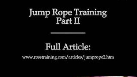 拳击跳绳训练