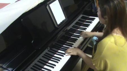 牛奶咖啡《明天你好》钢琴视奏_tan8.com