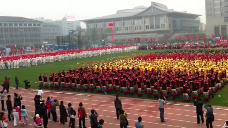 2012年北京大学校运动会开幕式表演