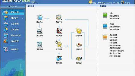 2013年昆山金蝶财务软件培训:反结账以及年末处理 13862429115