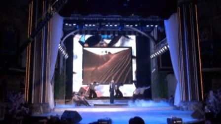 马伟光演唱会曲目:在那遥远的地方 领舞 余曦伴舞武警文工团.