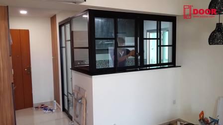 OpenConcept-4W+2P Kitchen Entrance