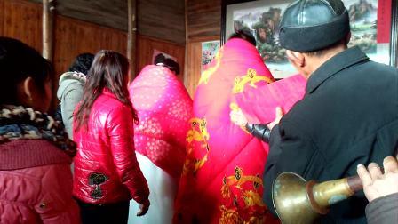 安徽东至最古老的结婚拜堂方式