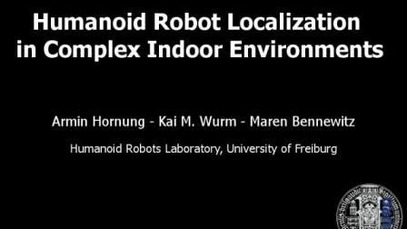 NAO机器人在复杂室内环境下的定位导航ROS robotics
