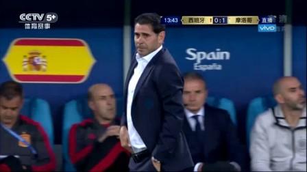 我在【录播】布塔伊卜单刀破门 阿斯帕斯进球判罚曲折 西班牙2-2战平摩洛哥截取了一段小视频