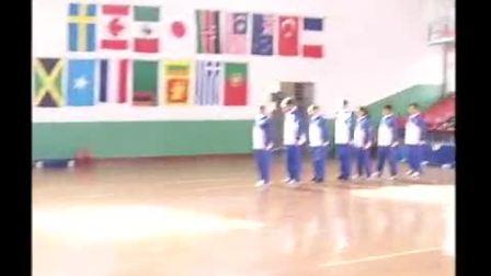 高中体育模拟课展示《集体操》江苏省基本功大赛