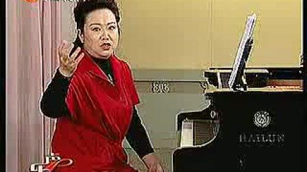 中央广播电视大学声乐教学14a-声区过渡的训练(女中音)