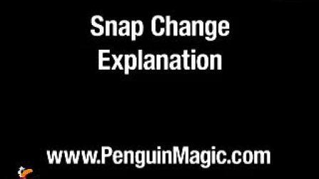 迪龙魔术企鹅魔术瞬间变牌教学(无密码)