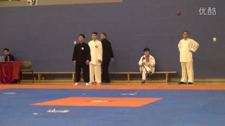 香港国际武术节上海赵堡太极金根声老师弟子推手赛(冠军)