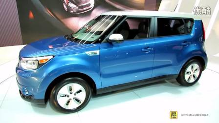2015款 KIA Soul Electric Vehicle  2014 芝加哥汽车展
