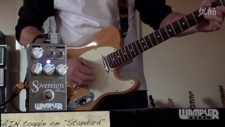 Wampler SOVEREIGN Distortion. Telecaster to HIWATT
