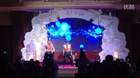 外籍 高水平舞者在大美女的婚宴的,友情出演!