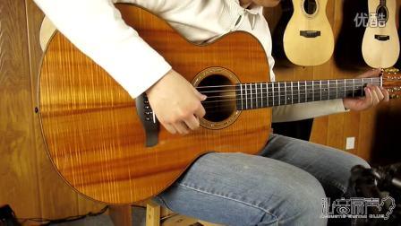 顶级手工吉他 Jeff traugott R(KOA) 评测试听 沁音原声