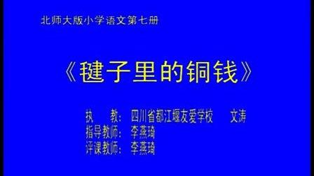 小学四年级语文优质示范课视频《毽子里的铜钱》文涛