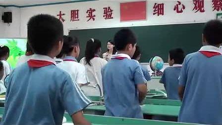 小学五年级科学为什么世界各地同一时刻的时间不一样教学视频骆杏