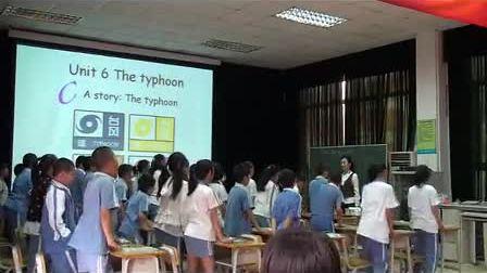 小学五年级英语Unit 6 A storyThe typhoon张晓瑜