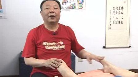 【足疗教程 足疗按摩】杨茗茗-足部按摩保健8-右脚特殊位置的按摩