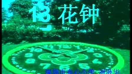小学三年级语文花钟教学视频人教版刘逊华