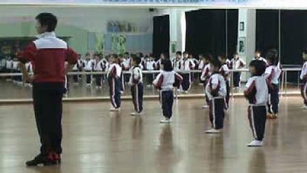 小学二年级音乐微课示范形体课《擦地绷脚组合》讲授类教学片段