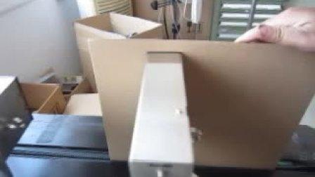 意大利札纳喜ZANASI大幅面高解像喷码 - 格力空调纸箱示范