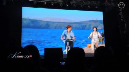 【kisskhun独家】140525 Nichkhun土豆韩饭爬梯宣传预告片饭拍