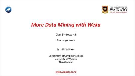 Weka在数据挖掘中的运用之二 5.3 (英文字幕)
