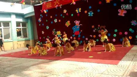2014年六一儿童节老二表演舞蹈,嘚啵嘚啵嘚