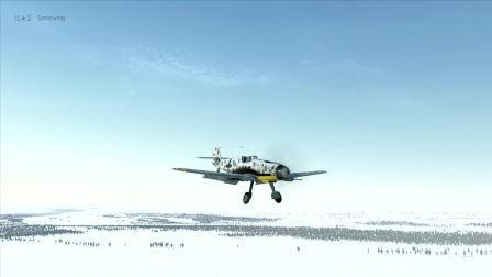 IL2 BOS Bf109 f4 著陸。