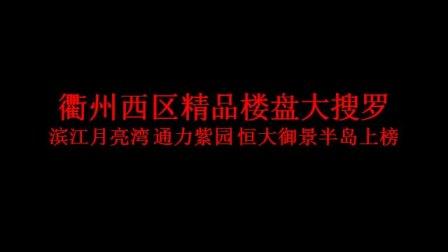 滨江月亮湾 通力紫园 恒大御景半岛上榜  衢州西区精品楼盘大搜罗