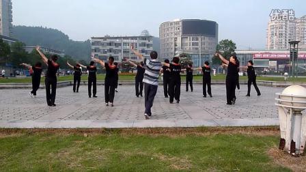邵武市音乐喷泉太阳红健身舞蹈队---晨练(幸福要来到)