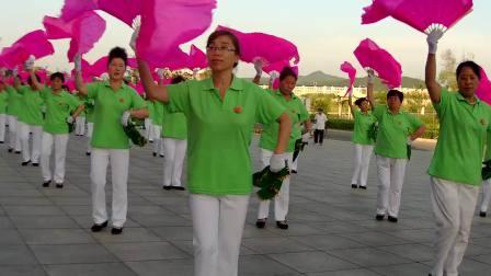 吉林柳河舞动和弦健身操团队(扇子健身操)