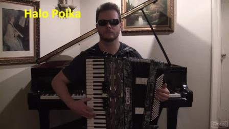 Beyonce and Lady Gaga on Accordion in Polka version