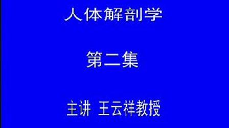 2王云祥解剖教学录像专辑 颅骨
