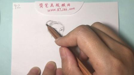 古代美女简笔画视频