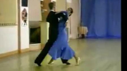 世界国标舞大师马科斯狐步舞教学与示范_标清_标清