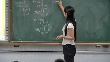 人教版数学八年级下册第十九章一次函数19.2一次函数19.2.3一次函数与方程不等式一次函数与一元一次不等式-徐老师公开优质课配视频课件教案